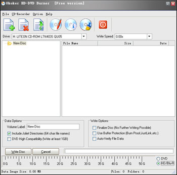 Freeware, DVD Burner, free HD-DVD Burner